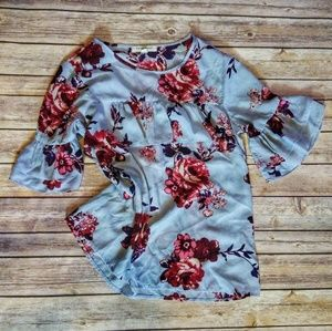 Living Doll | floral print blouse
